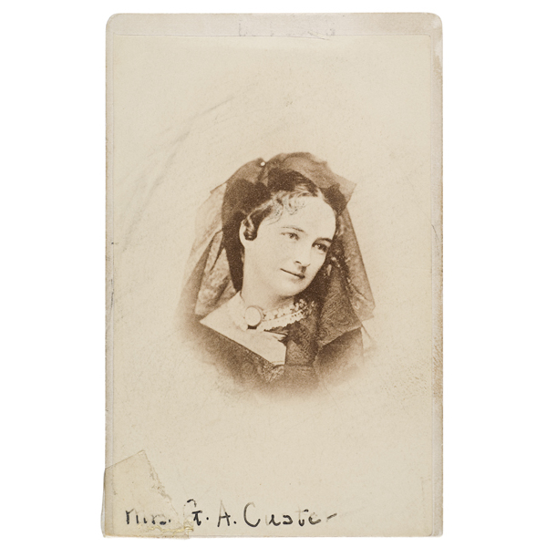 CDV of Elizabeth Bacon Custer,