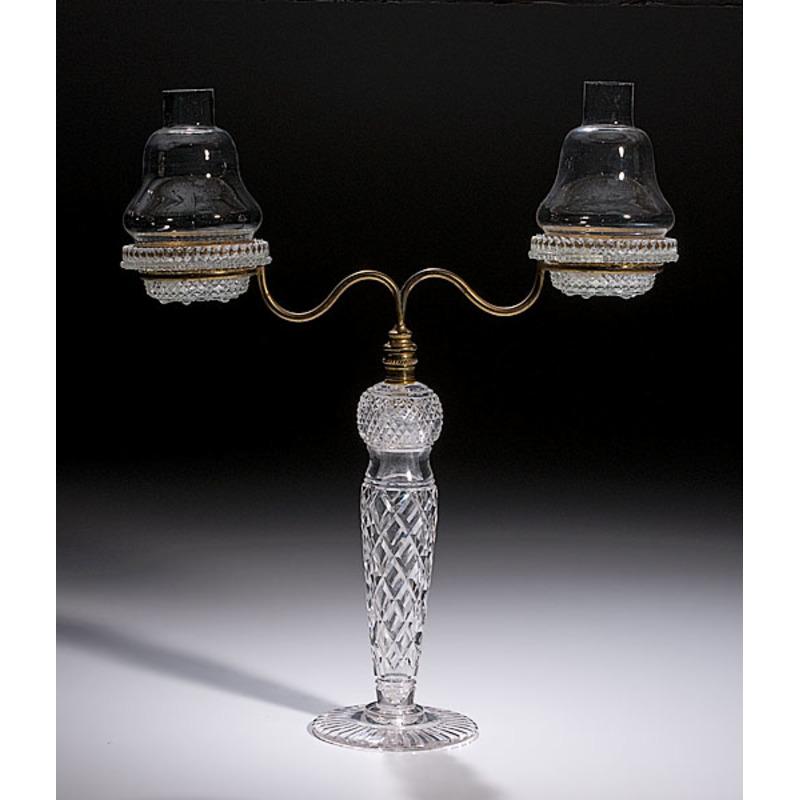 "Clark's ""Cricklite"" Glass Fairy Lamp,"