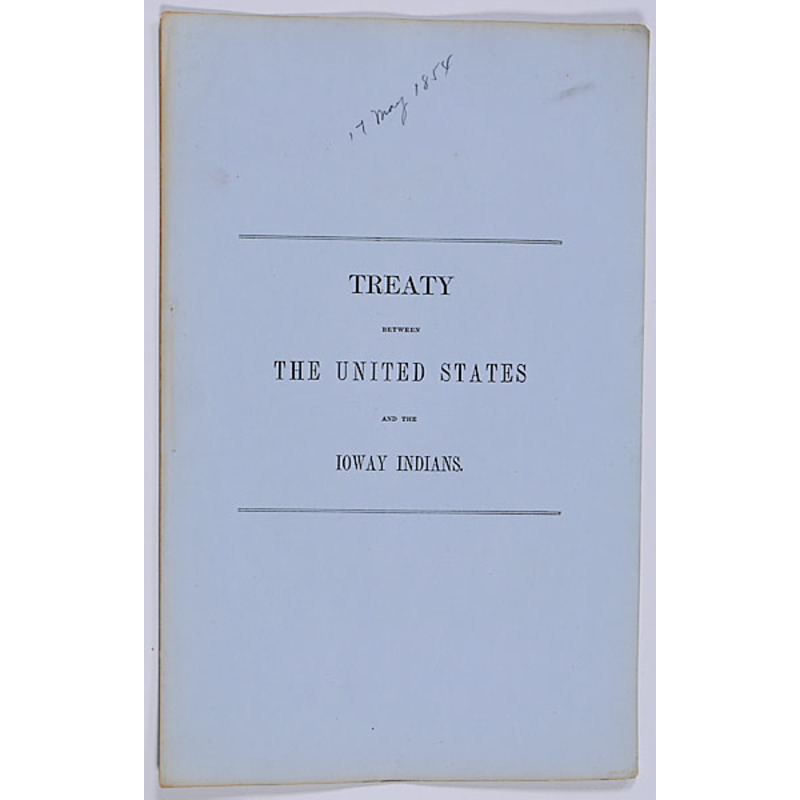 Strange Treaty Between The United States And The Ioway Indians Best Image Libraries Weasiibadanjobscom