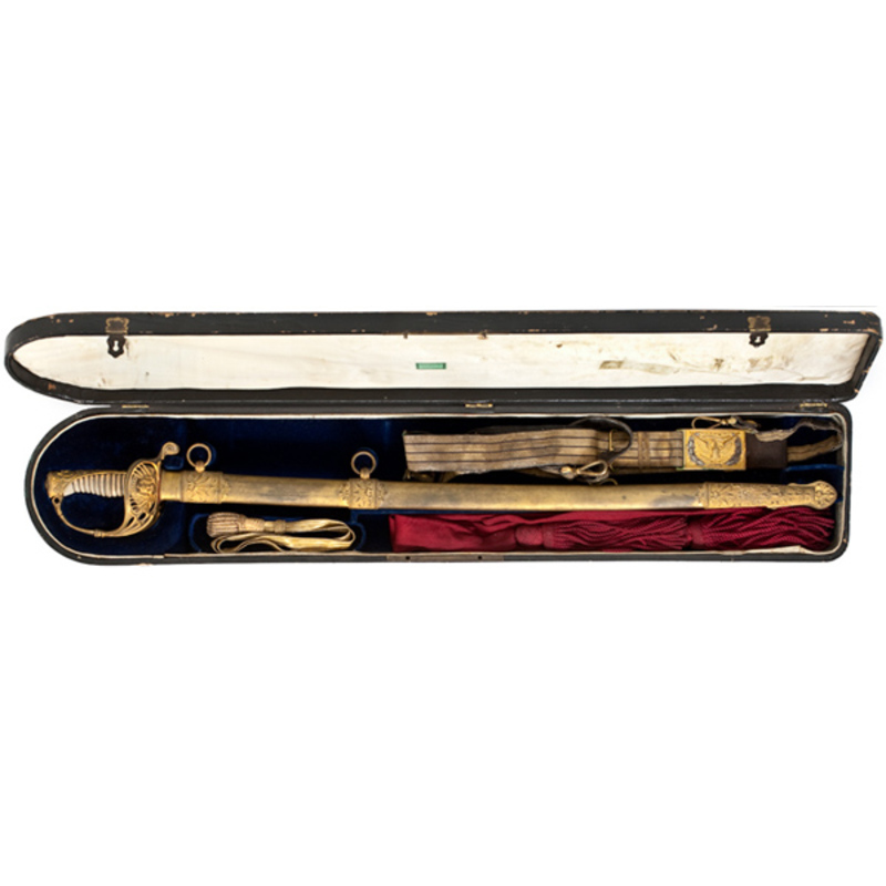 Cased Civil War  Presentation Sword of Colonel Thomas H. Ruger, 3rd Wisconsin,