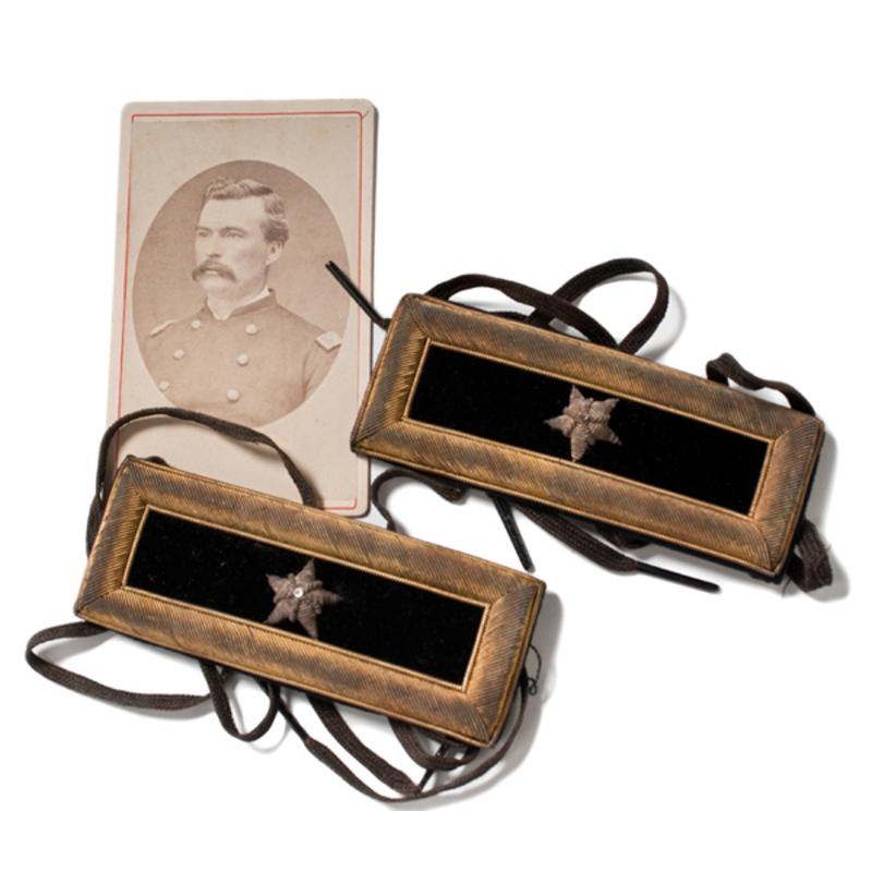 Brigadier General Thomas H. Ruger's Civil War  Shoulder Straps,