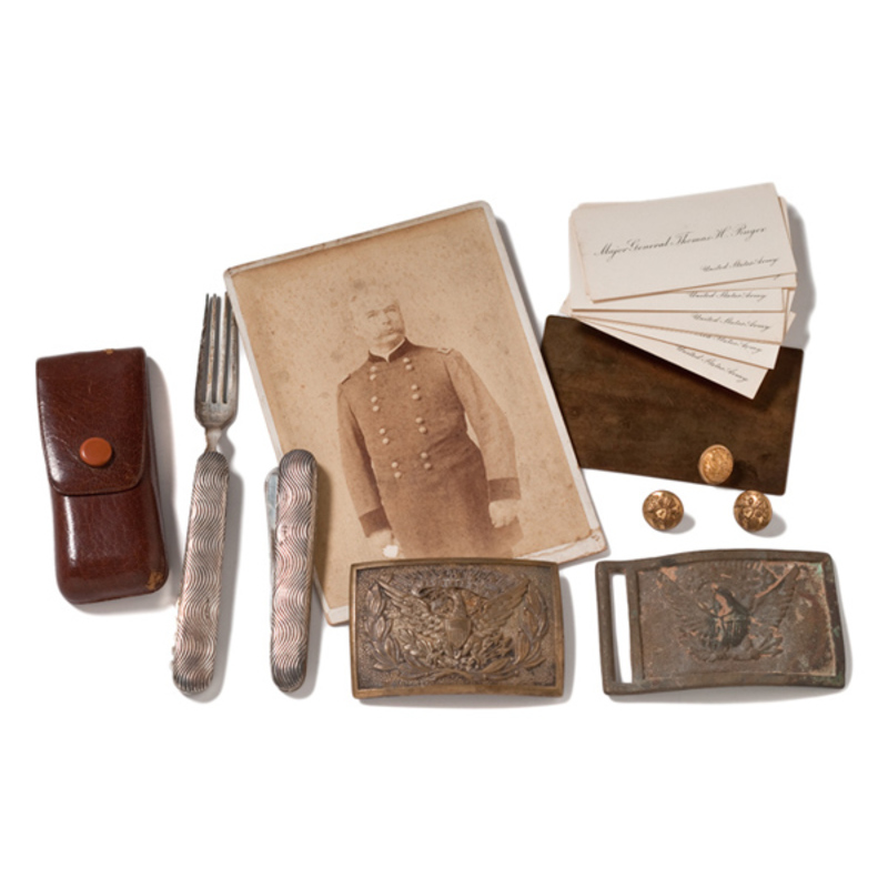 Lot of Personal Effects of General Thomas H. Ruger,
