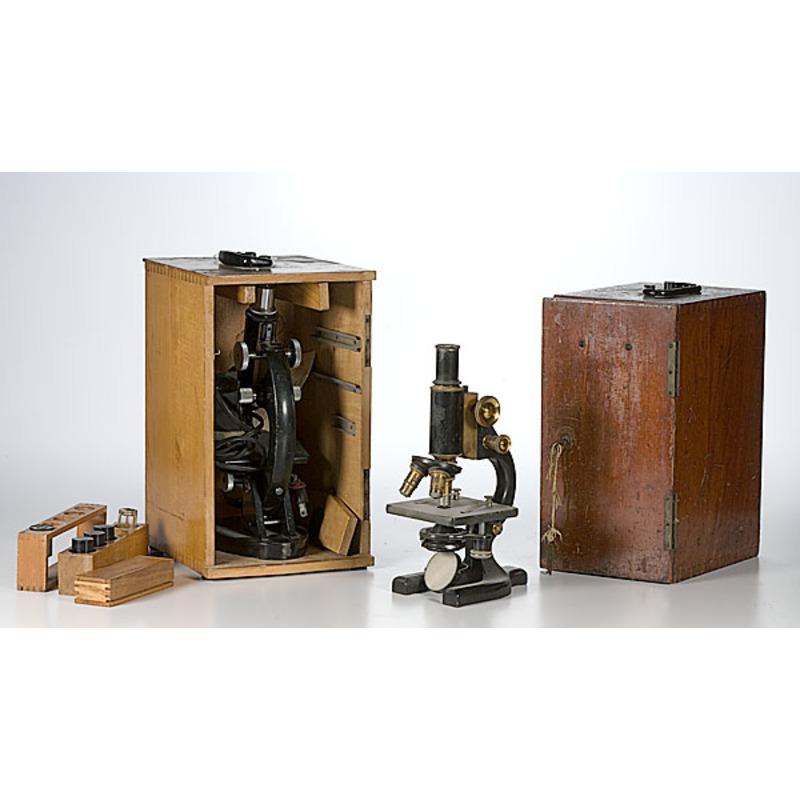 Two Three-Objective Lens Microscopes