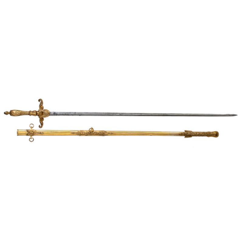 Mexican War Sword Presented to Col. William B. Roberts, 2nd Pennsylvania Volunteers,