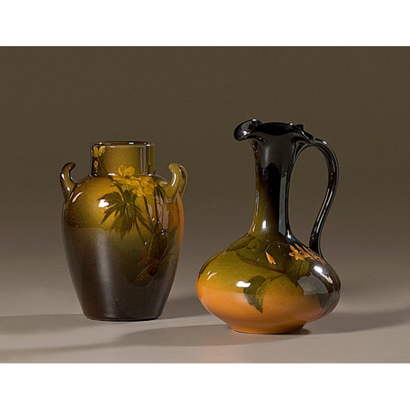 Rookwood Vases By Carrie Steinle Cowans Auction House The