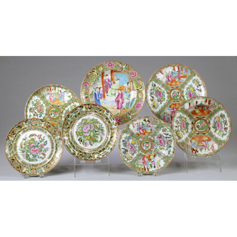 Rose Medallion/Mandarin Lot,