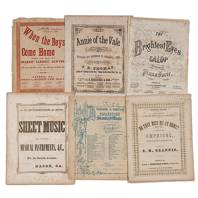 Confederate Sheet Music Collection