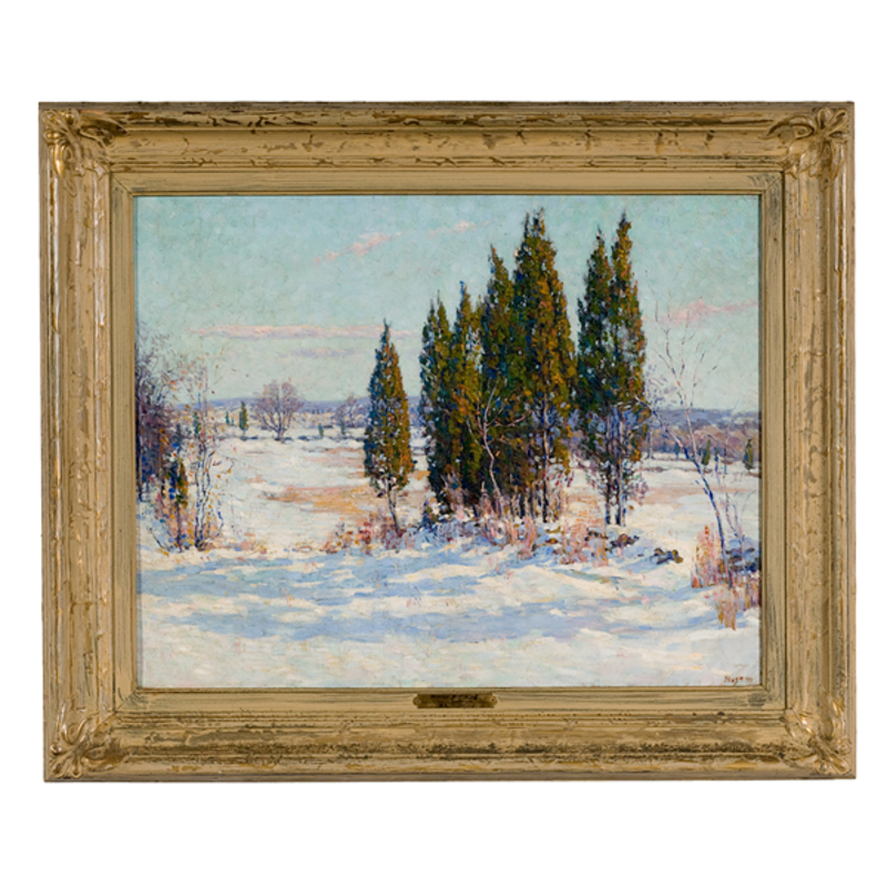 Landscape by R.C. Nuse, Oil on Canvas