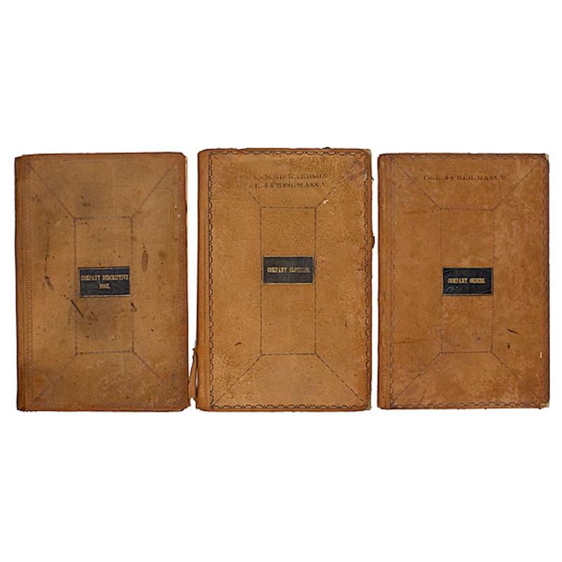 Civil War Company Books of Co. E, 44th Mass.