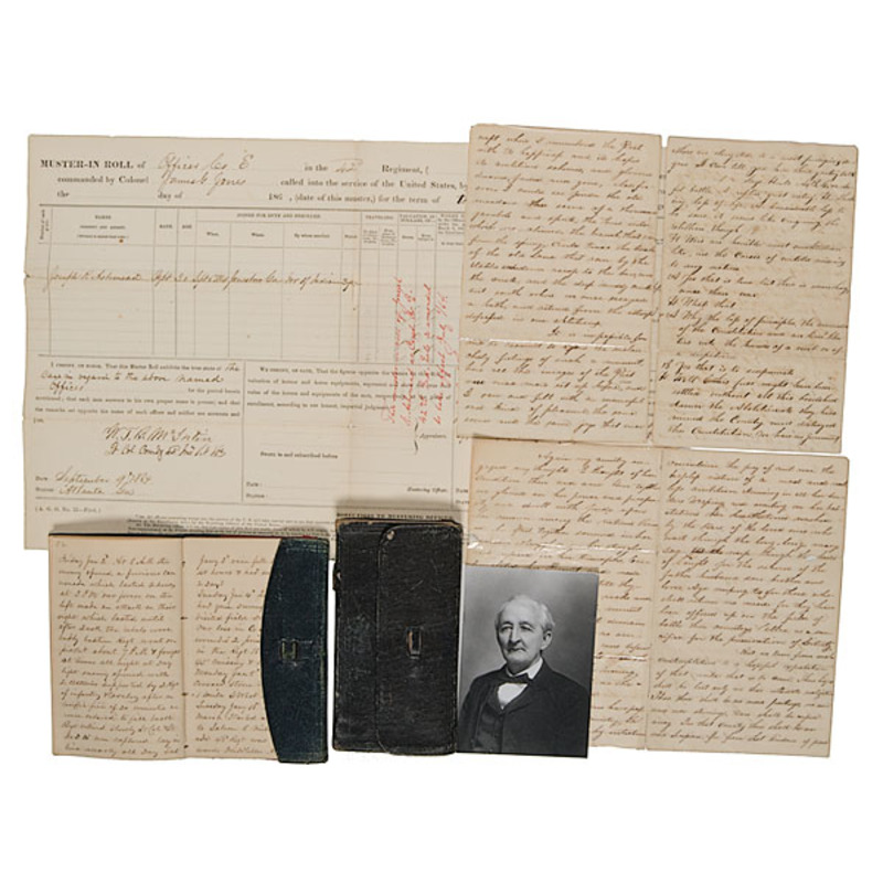 Civil War Diaries and Archive of Capt. J.R. Ashmead, 42nd Indiana Vols.