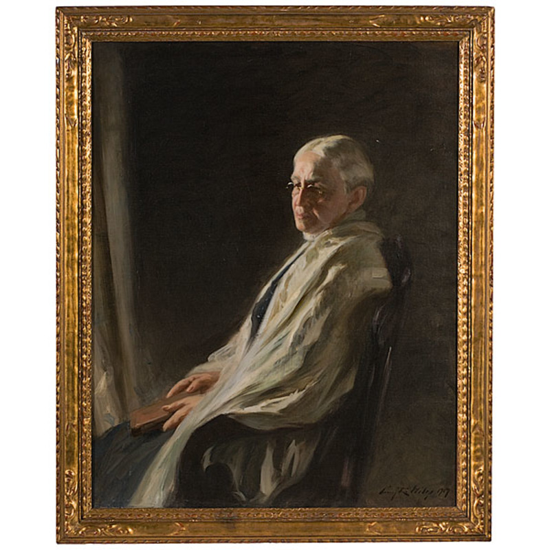 Portrait of Marion Louis Withey by Irving Wiles, Oil on Canvas