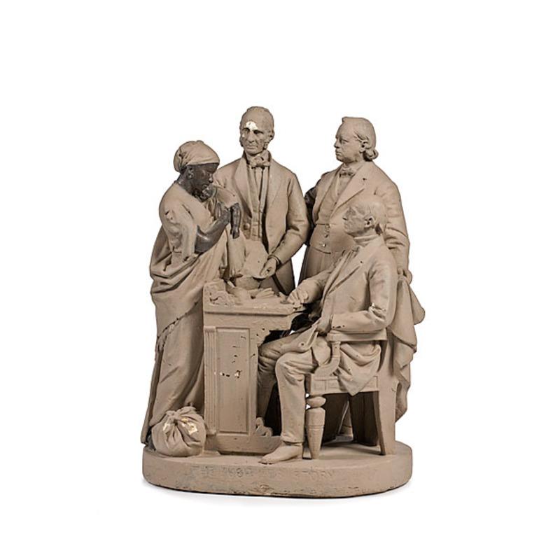 John Rogers Figural Group The Fugitives