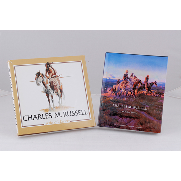 Two books on the Illustrations of Charles M. Russell