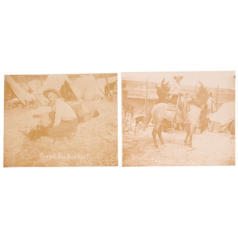 Pawnee Bill Photograph Album
