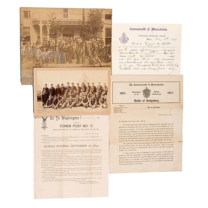 George H. Scott, Mass. 18th and 32nd Infantry, Civil War Archive