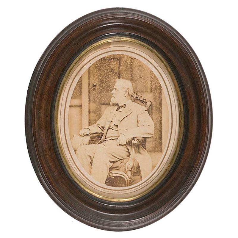 Robert E. Lee Albumen Photograph