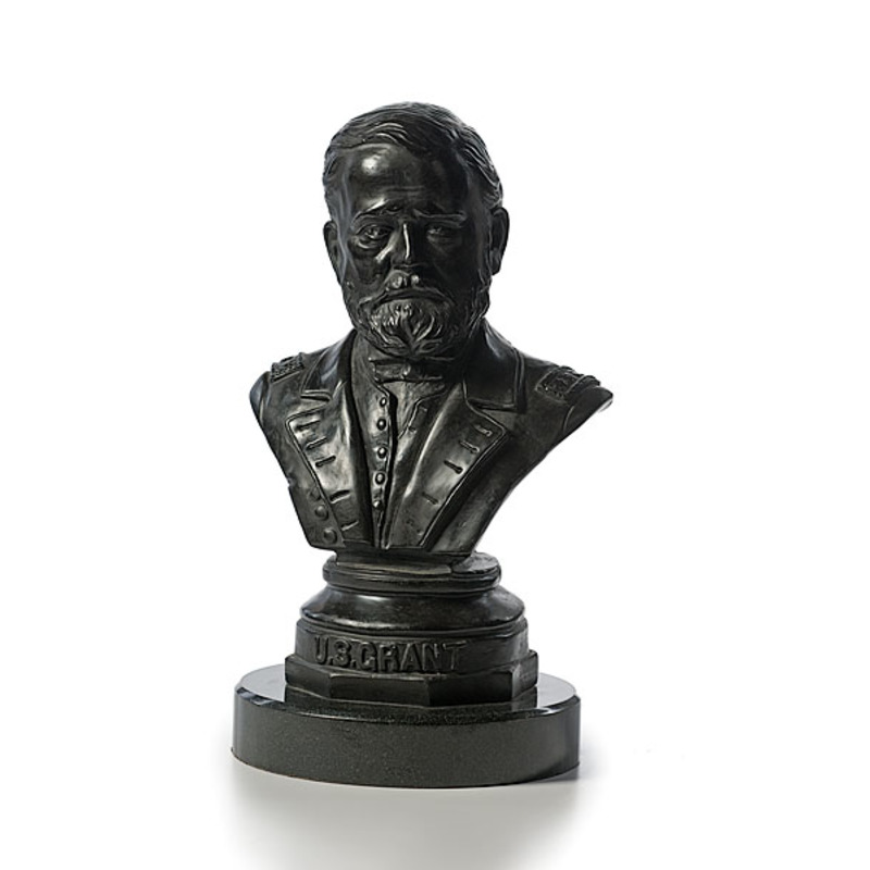 General U.S. Grant Portrait Bust by Frederick Volck