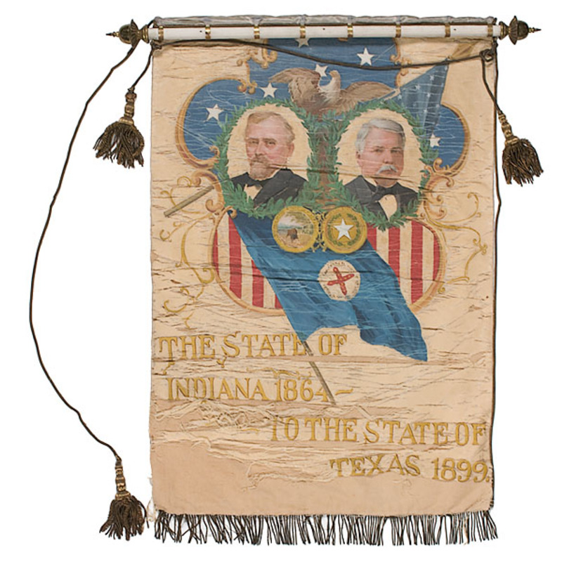 Indiana - Texas Ceremonial Banner