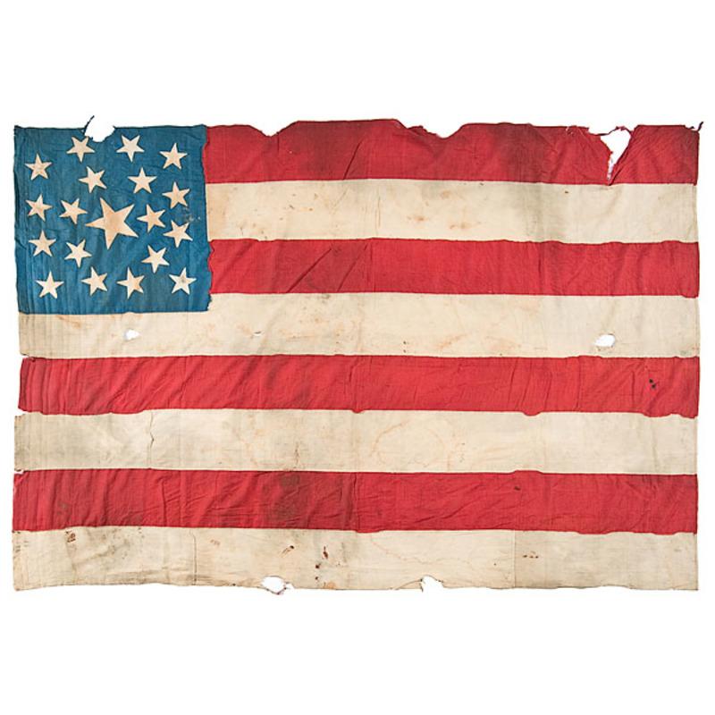Rare 19-Star American Flag
