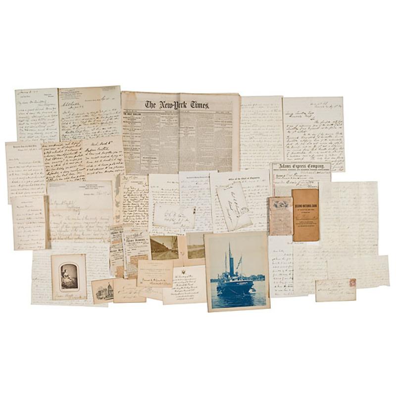 Civil War Archive of C.B. Comstock
