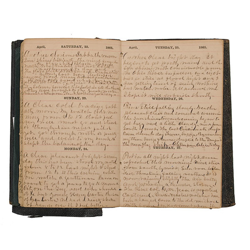 Civil War Naval Diary of Thomas J. Jesse