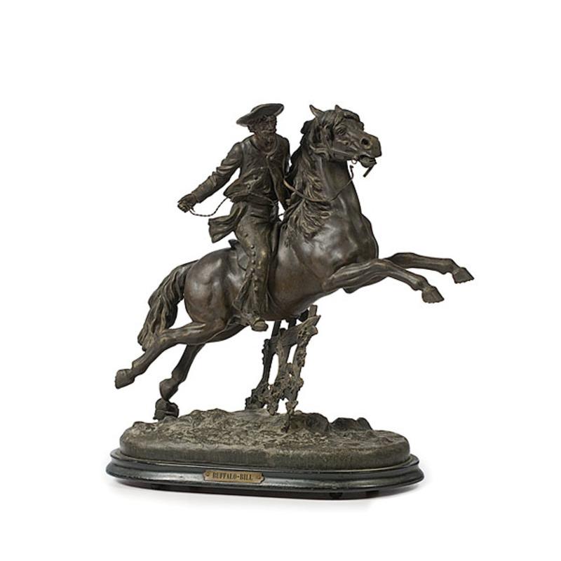 Buffalo Bill Souvenir Sculpture