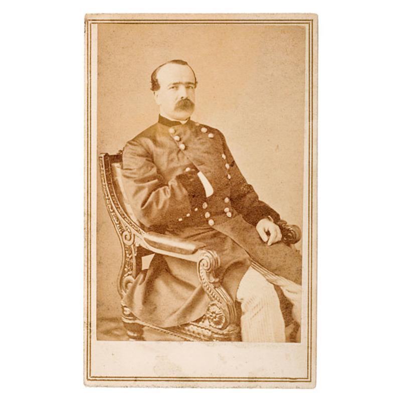 Autographed CDV of Maj. Gen. Daniel Butterfield