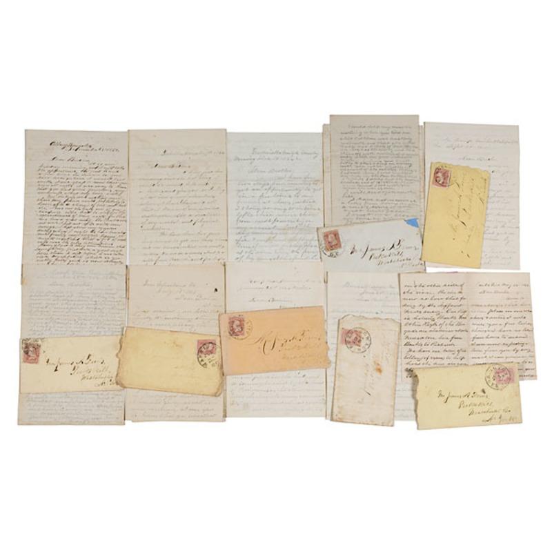 Civil War Archive of Sgt. D. Ferris, 44th and 140th NY, KIA