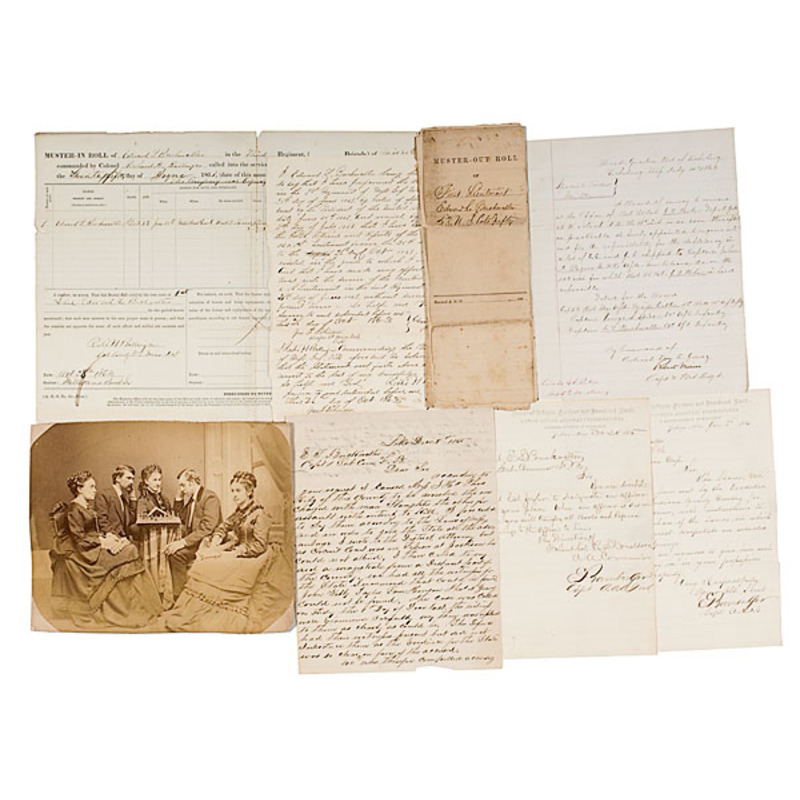 Civil War Archive of Capt. E. L. Buckwalter, 114th OH Inf. and 53 US CT Inf.