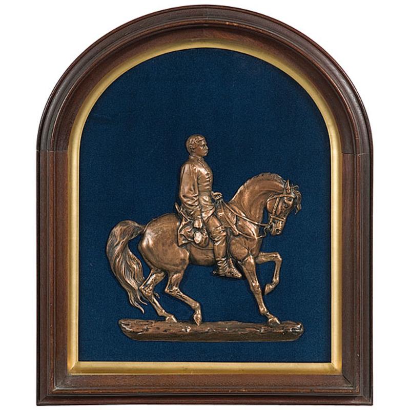 Felix Darley Relief Sculpture of General George McClellan