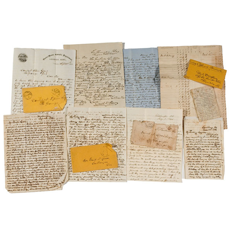 Confederate Manuscript Archive of Maj. Daniel Speer, 60th GA