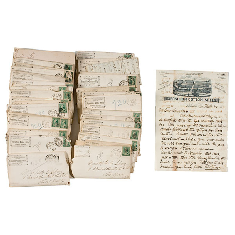 Georgia Love Letters from the Atlanta Cotton States Exposition 1889