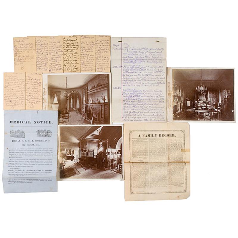 Speer-Moreland Antebellum Georgia Family Archive