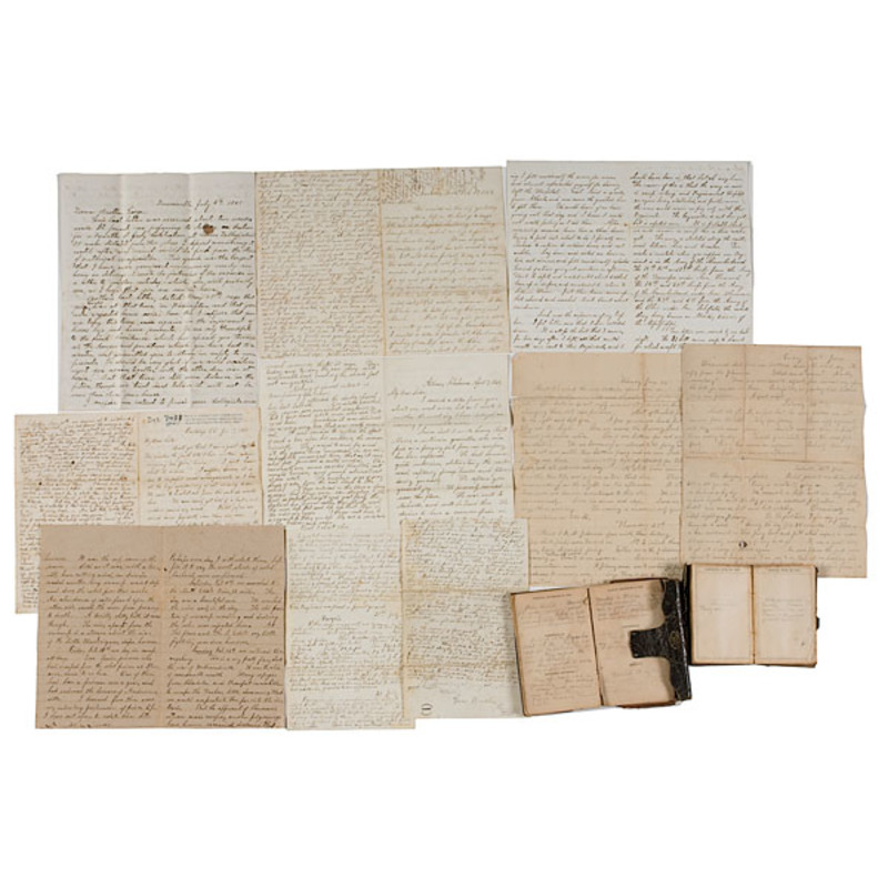 Important Civil War Correspondence Archive of George R. Gear, 39th OVI