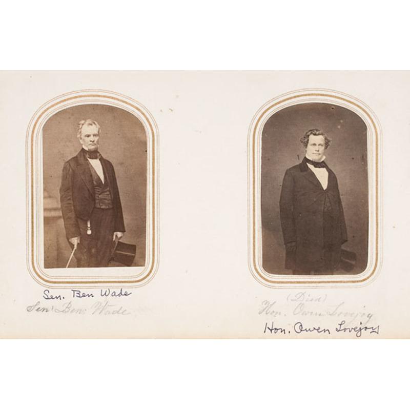 Massive Photo Archive of Ellsworth-Goodell-Chapman Families w/Military CDVs