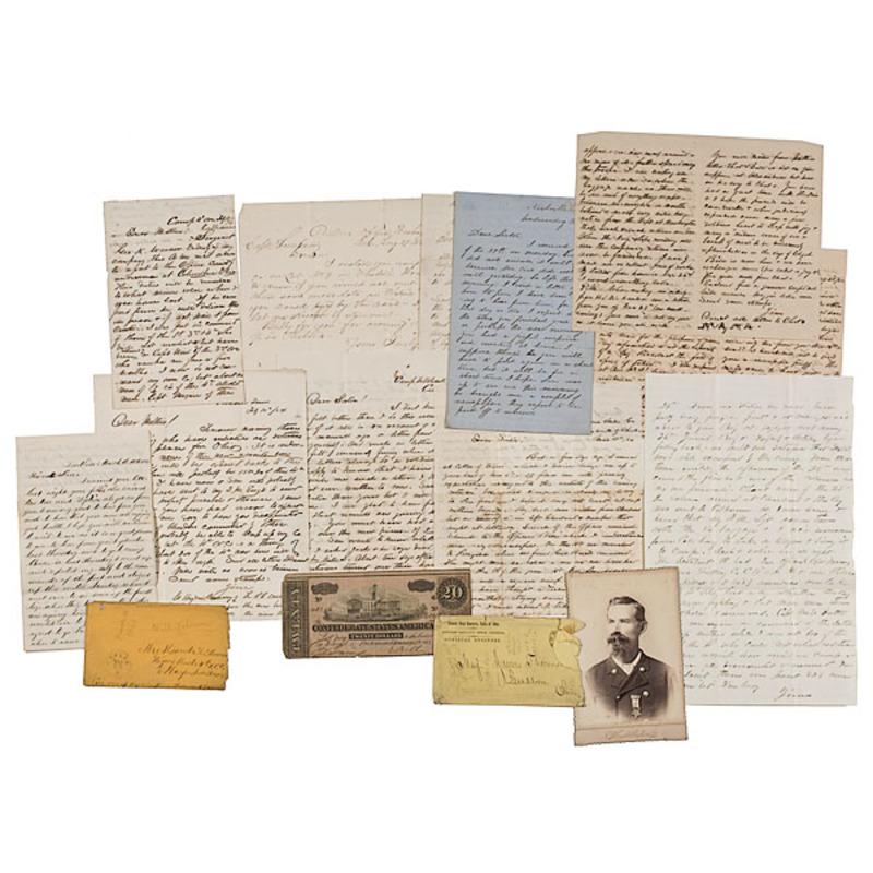 Civil War Letters of James Thomson, 4th Ohio Cavalry, POW