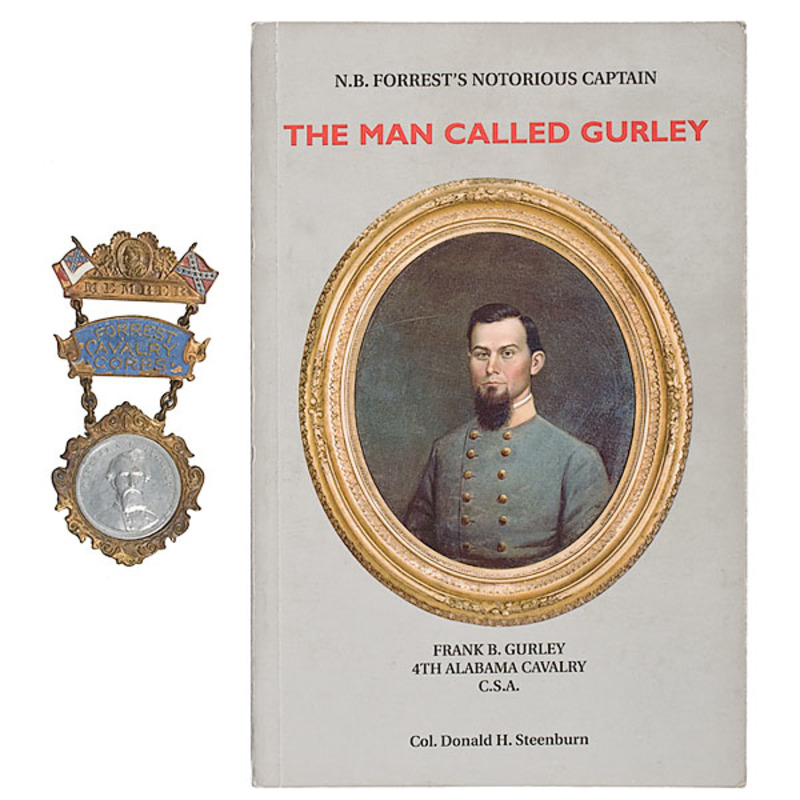 Identified Forrest Cavalry Badge
