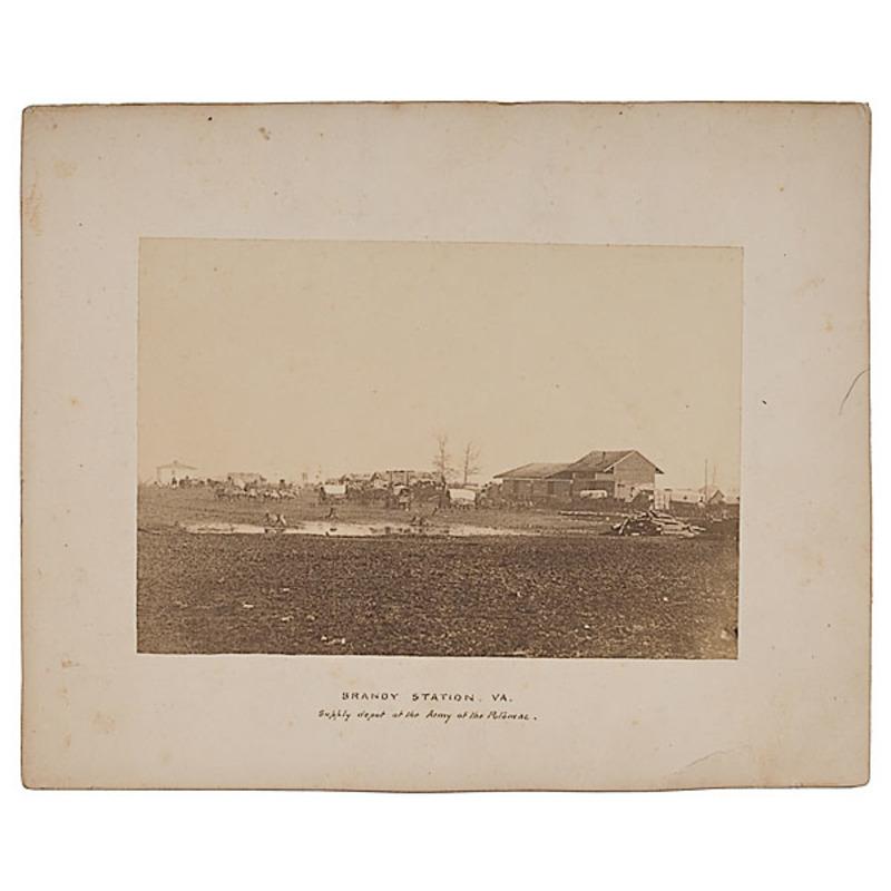 Civil War Image of Brandy Station, Va.