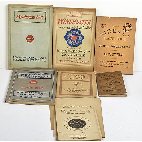 Antique Firearms Manuals Lot of Seven