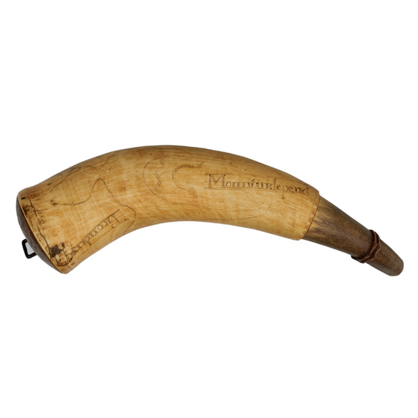 Frederick Humphry/1776 Engraved Powder Horn