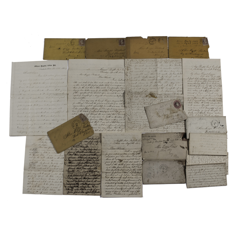 Dr. Josiah Reed, 94th Ohio Infantry, WIA Battle of Stones River, Civil War and Post-War Letters