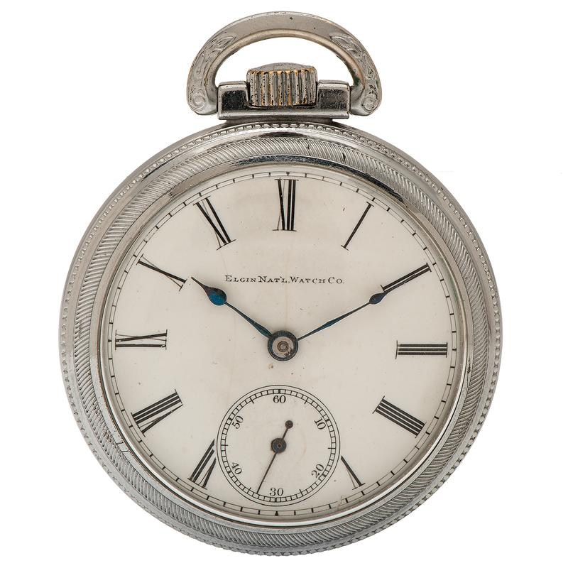 Elgin Father Time 21 Jewel Pocket Watch Ca. 1901