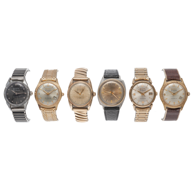 Bulova and Accutron Mid-Century Wrist Watches