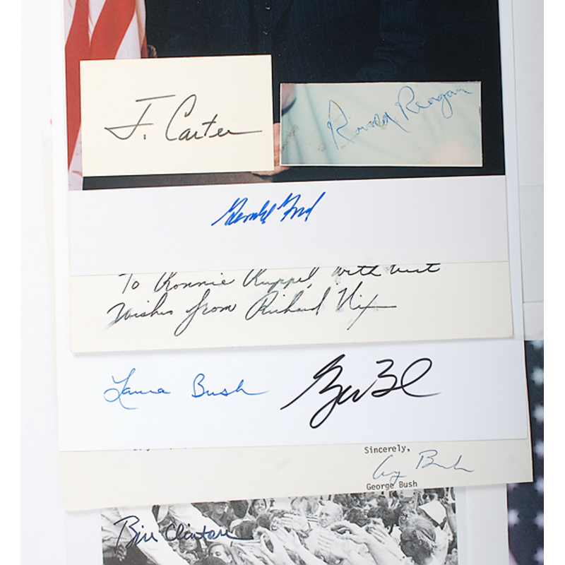 Presidential Autograph Collection, Middle-to-Late 20th Century
