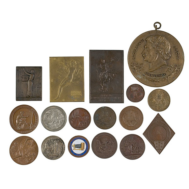 Collection of Photographic Medals Awarded to Jeanie A. Welford