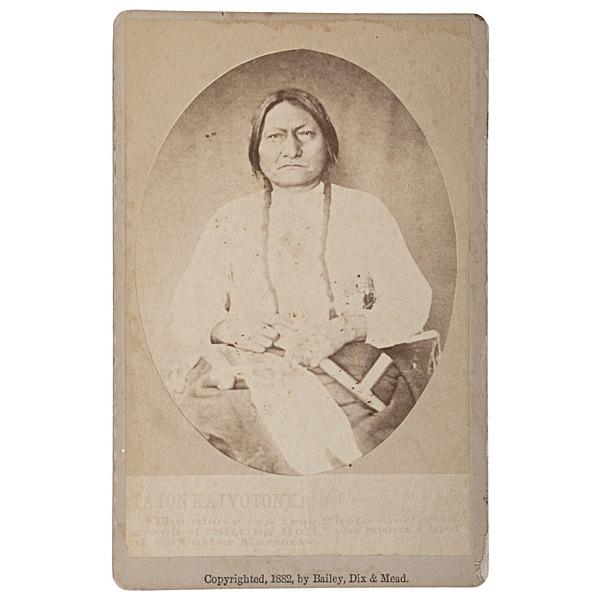Minn Paul Ready to Frame 8x10 Photograph c1884 Sitting Bull // /& published by Palmquist /& Jurgens St