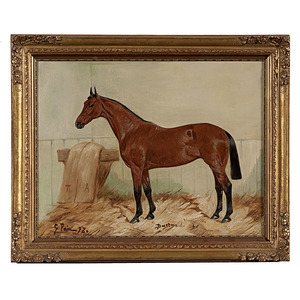 Horse Portrait by George Paice, Oil on Canvas