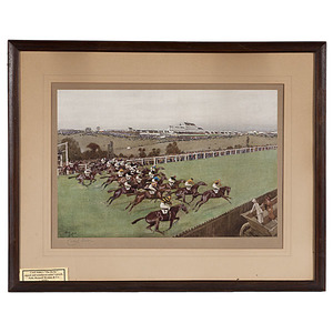 The Derby by Cecil Aldin, Lithographs