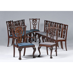 Chippendale-style Chairs