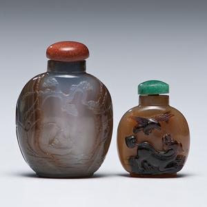 Hardstone Chinese Snuff Bottles